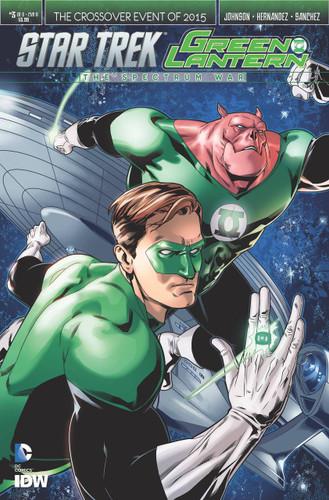 Star Trek / Green Lantern: The Spectrum War #3b (of 6)