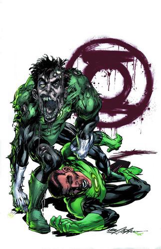 Green Lantern #45b Limited 'MONSTER' Variant
