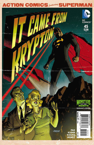 Action Comics #45b Limited 'MONSTER' Variant