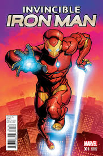 Invincible Iron Man #1h Limited 'YOUNG GUNS' Variant
