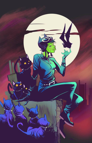 Catwoman #45b Limited 'MONSTER' Variant