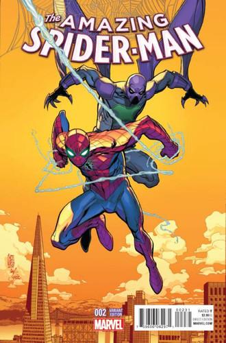 Amazing Spider-Man # 2c Limited 'CAMUNCOLI' Variant