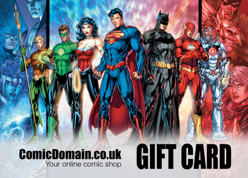 Comic Domain £10 Gift Card