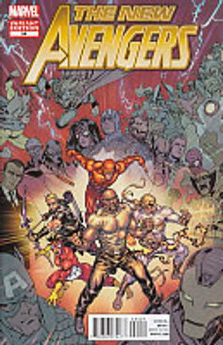 New Avengers # 34b Limited Variant (vol 2)