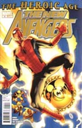 New Avengers # 4 (vol 2)