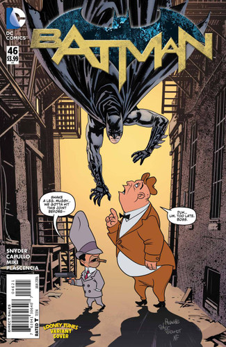 Batman #46b Limited 'LOONEY TUNES' Variant