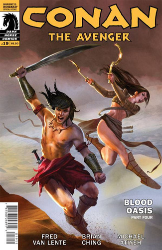 Conan: The Avenger #19