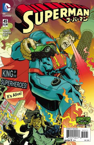 Superman #45b Limited 'MONSTER' Variant
