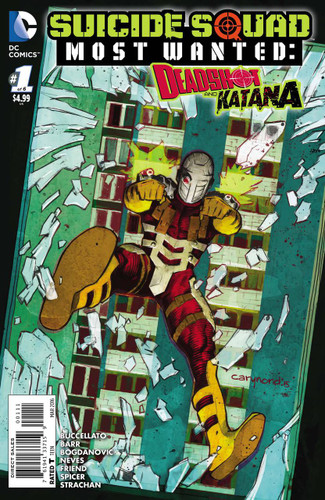 Suicide Squad: Most Wanted - Deadshot & Katana #1 (of 6)