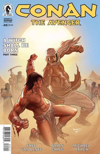 Conan: The Avenger #22