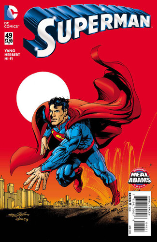 Superman #49b Limited 'NEAL ADAMS' Variant