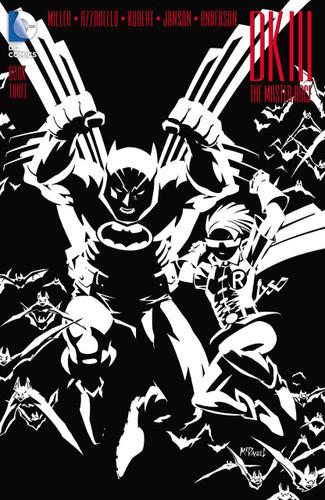Dark Knight III: The Master Race #1b Limited 'MCDANIEL' Variant