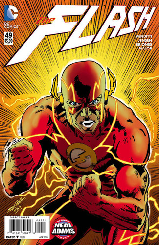 Flash #49b Limited 'NEAL ADAMS' Variant