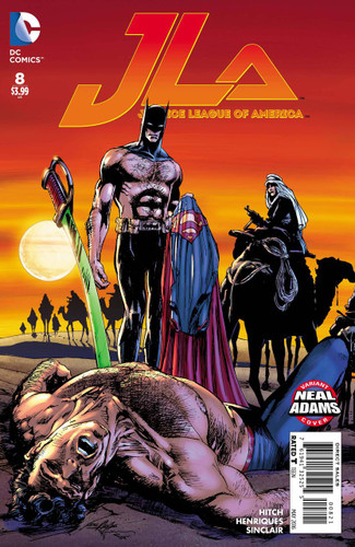 Justice League of America #8b Limited 'NEAL ADAMS' Variant