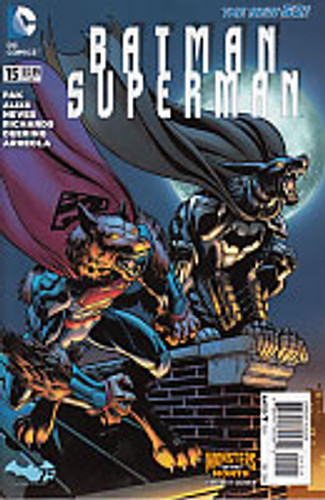 Batman Superman # 15b 'MONSTER' variant
