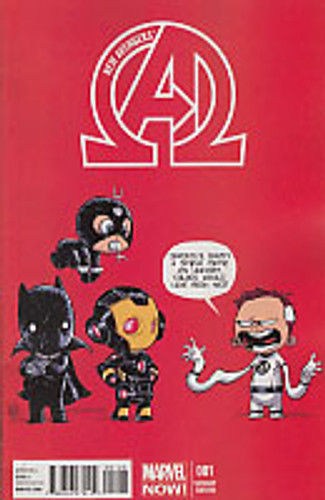 New Avengers # 1b limited 'BABY' variant