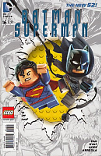 Batman Superman # 16b Limited 'LEGO' variant