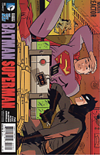 Batman Superman # 17b Limited 'Darwyn Cooke' Variant