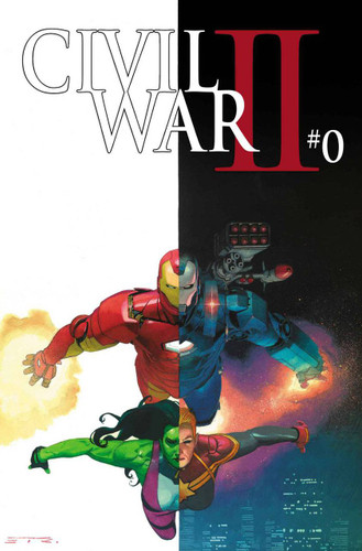 Civil War II #0b Limited 'RIBIC' Variant