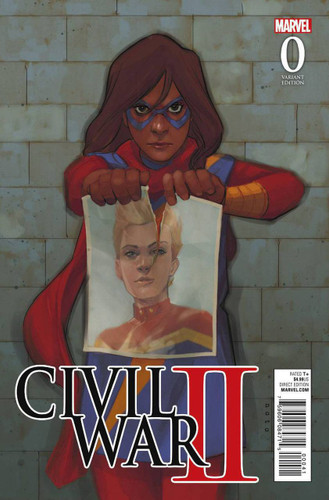 Civil War II #0d Limited 'NOTO KAMALA' Variant