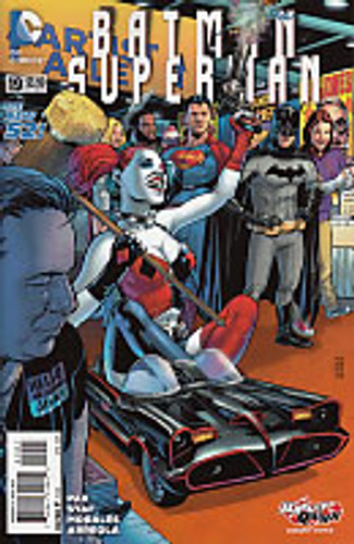 Batman Superman # 19b Limited 'HARLEY QUINN' Variant