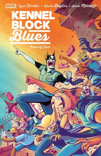 Kennel Block Blues #4 (of 4)