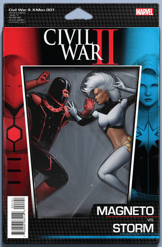 Civil War II: X-Men #1c (of 4) Limited 'ACTION FIGURE' Variant