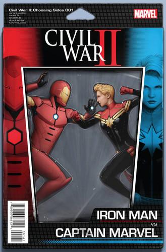 Civil War II: Choosing Sides #1 Limited 'ACTION FIGURE' Variant