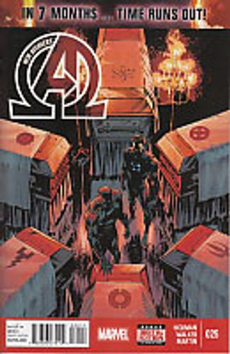 New Avengers # 25 (vol 3)