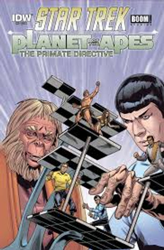 Star Trek / Planet of the Apes # 5 (of 5)