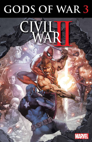 Civil War II: Gods of War #3 (of 4)