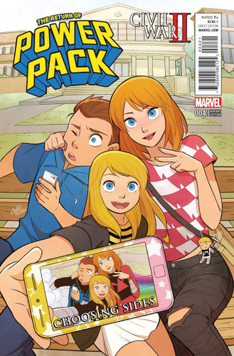 Civil War II: Choosing Sides #4 (of 6) Limited 'POWER PACK' Variant