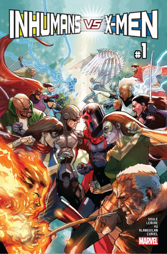 Inhumans Vs X-Men #1