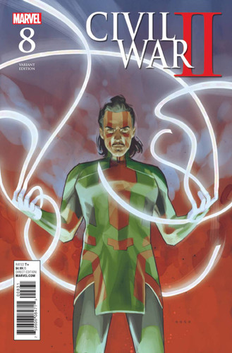 Civil War II #8c (of 8) Limited 'NOTO' Variant