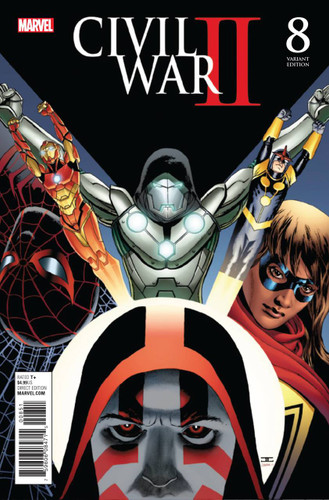 Civil War II #8d (of 8) Limited 'CASSADAY' Variant