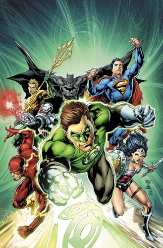 "Justice League #44b - Limited ""Green Lantern 75th"" Variant"