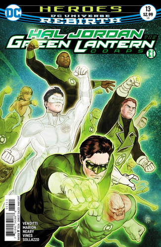Hal Jordan and the Green Lantern Corps (2016- ) #13
