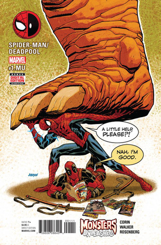 Spider-Man / Deadpool #1 Monsters Unleashed