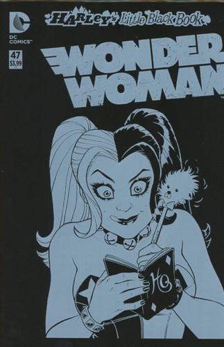 Wonder Woman #47 Limited 'HARLEYS LITTLE BLACK BOOK' Variant