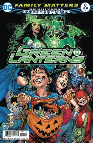 Green Lanterns #8 (2016- )