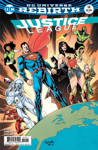 Justice League #14 (2016- ) Limited Variant
