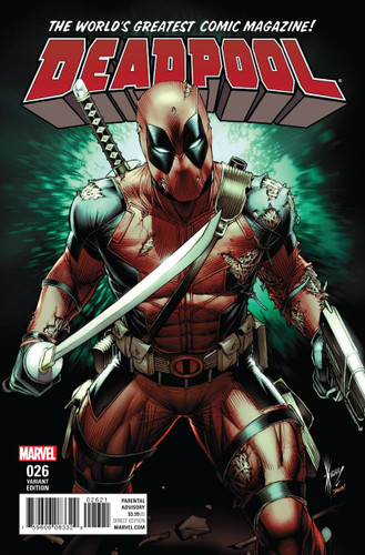 Deadpool #26 Limited Variant