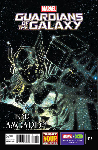 Marvel Universe: Guardians of the Galaxy #17