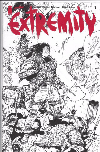 Extremity #1 Limited 'ASHCAN' Variant
