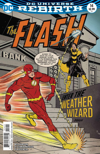 Flash #14 Limited Variant (2016- ) (Rebirth)