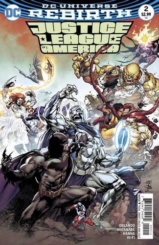 Justice League of America #02 (2017- )(Rebirth)