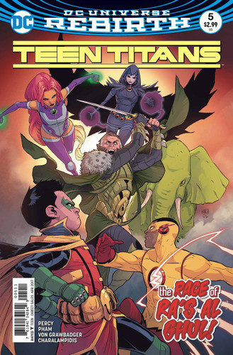 Teen Titans #05 (2016- )(Rebirth)
