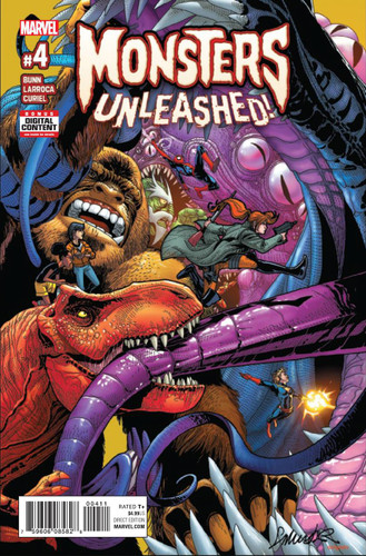 Monsters Unleashed #04 (of 5)