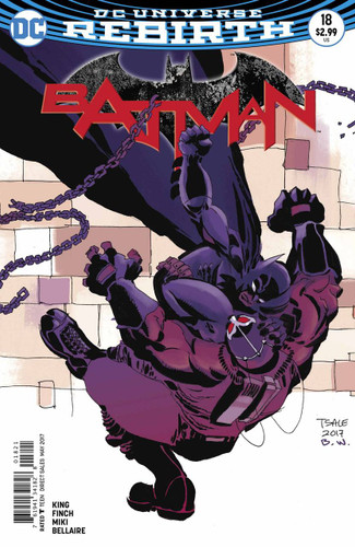 Batman #18 (2016- )(Rebirth) Limited Variant