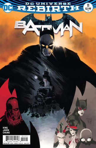Batman #11 (2016- )(Rebirth) Limited Variant